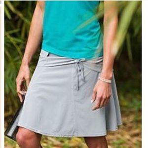 Athleta Wherever Gray Skirt